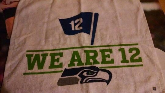 2014 NFC championship game rally towel