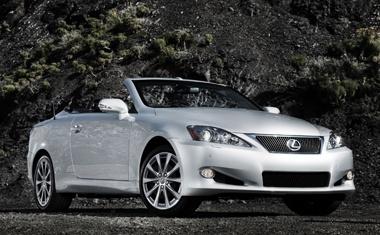Lexus Convertible 2013
