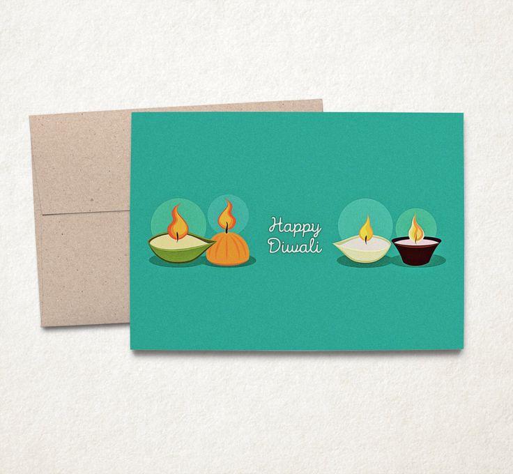 Happy Diwali, Diwali Cards, Diwali Greeting Card, Happy Diwali Cards, Printable Cards, INSTANT DOWNLOAD, 5x7 by PaperPussyCat on Etsy https://www.etsy.com/listing/254468520/happy-diwali-diwali-cards-diwali