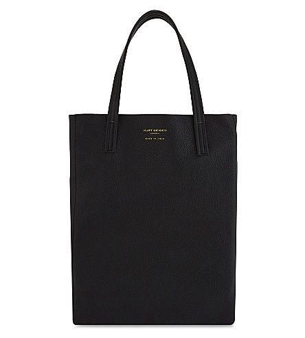 KURT GEIGER LONDON Violet Vertical tote bag. #kurtgeigerlondon #bags #shoulder bags #hand bags #suede #tote #lining #