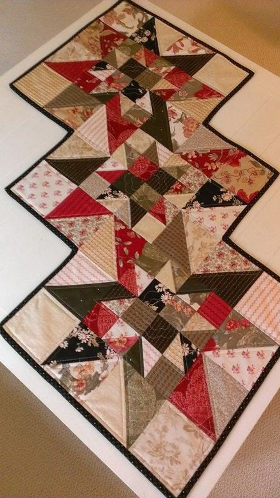 Christmas Quilt Patterns Pdf Table Runner Fall Quilt Pattern Star