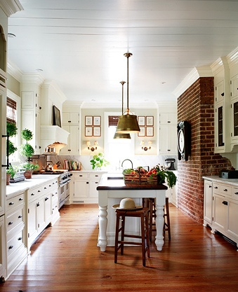 I hope I can do something with exposed brick in my dream kitchen.