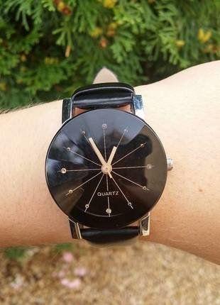 Kup mój przedmiot na #vintedpl http://www.vinted.pl/akcesoria/bizuteria/16257710-zegarek-nowy-czarny-z-metkami-galaxy-promocja-idealny-na-gwiazke