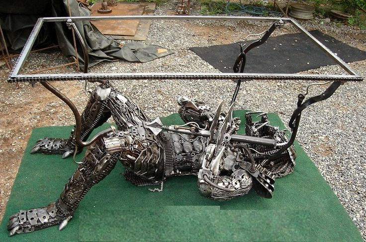 Predator Table Scrap Metal Art Thailand Pinterest The O 39 Jays Metal Art And Metals