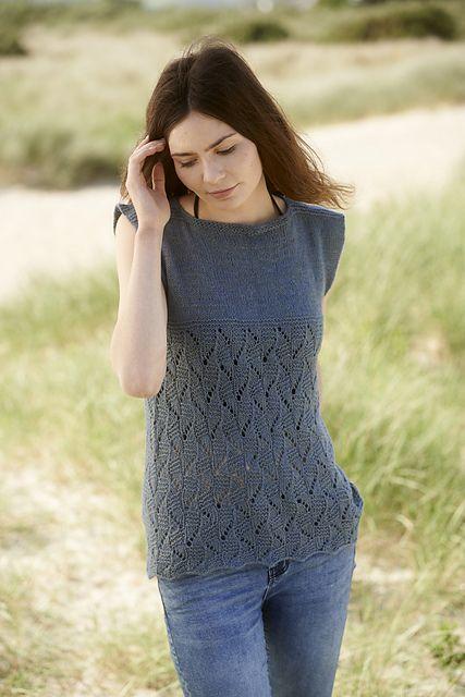 141 Best Knitting Adult Vests Tank Tops Images On Pinterest Knit