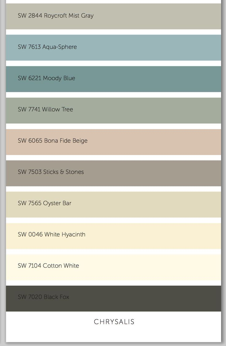 Sherwin Williams Color Palette 182 Best Color Palette Images On Pinterest Colors Painting And