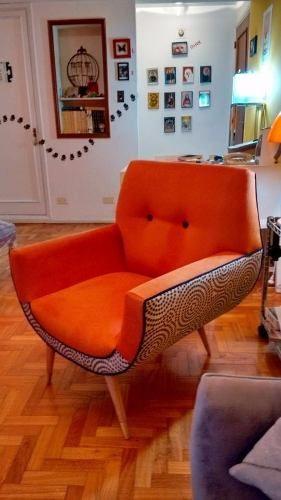 Sillon Diseño Gondola Retro Vintage 1 Cuerpo