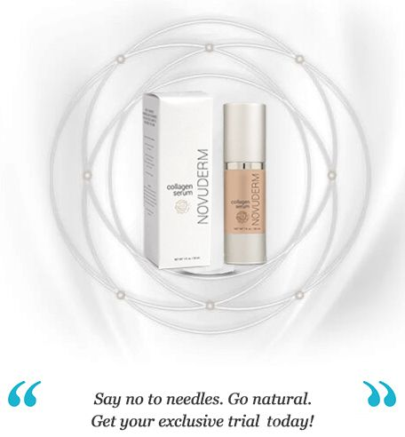 NovuDerm #Collagen Serum Reviews – No injection formula for younger looking #skin