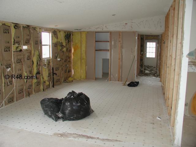 Remodeling Mobile Home Walls | Mobile home renovation Kitchen ...