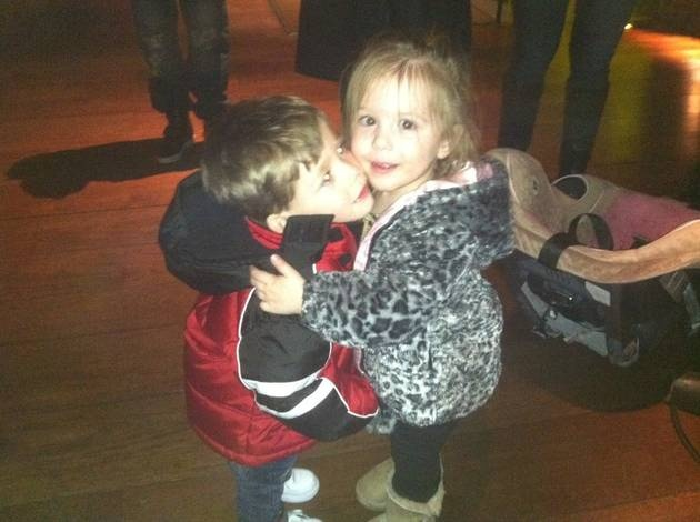 Jace Evans and Aubree Houska: Young Love
