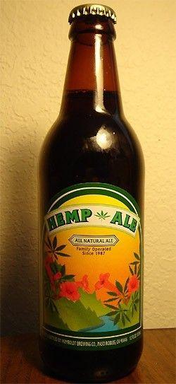 Cerveja Humboldt Brown Hemp Ale, estilo Spice/Herb/Vegetable Beer, produzida por Nectar Ales, Estados Unidos. 5.7% ABV de álcool.