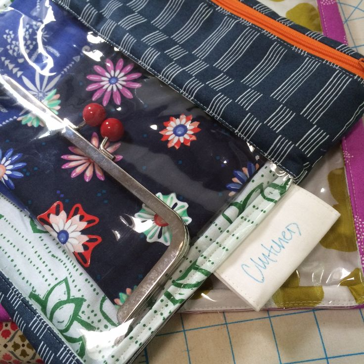 Zippered Knitting Project Bag Tutorial : Images about sew zippered pouches on pinterest