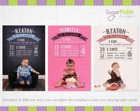Birthday+Chalkboard+Template+Birthday+by+SugarPickleTemplates,+$10.00