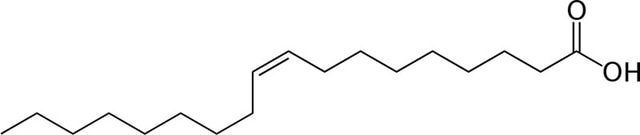 Chemical Structures Starting with the Letter O: Oleic Acid Chemical Structure