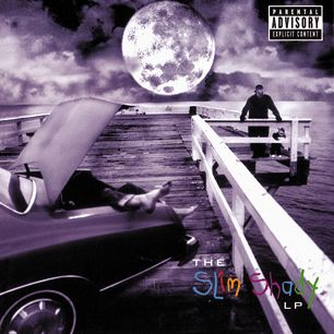"""The Slim Shady LP by Eminem, 1999: My Favorite Tracks: """"My Name Is"""" """"97 Bonnie and Clyde"""" """"Rock Bottom"""" """"Role Model"""" and """"Guilty Conscience"""""""