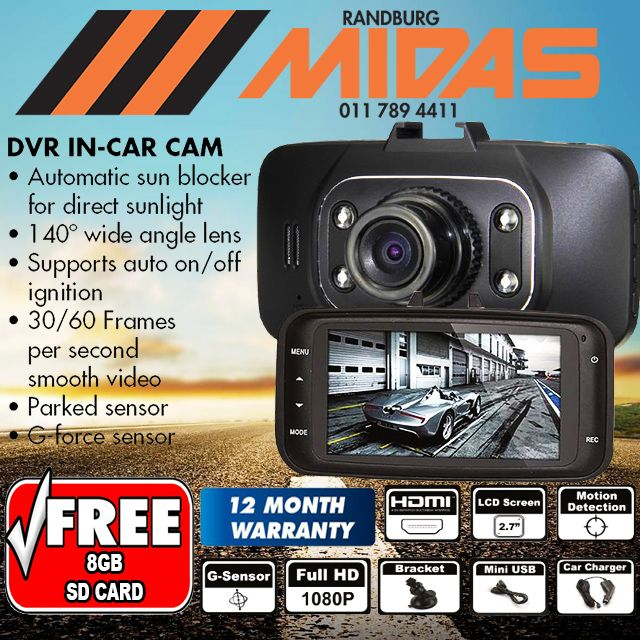 Never miss another moment with the stylish #DVR in-car cam VIEW OUR WEBSITE FOR MORE INFO. LINK IN BIO #Randburg #Camera #BestPrice #JHB