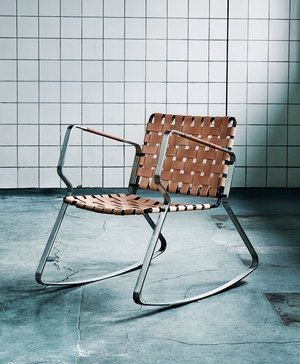 SlopeRockingChair by Christian Troels. Danish designer. Spotted by @missdesignsays #allgoodthingsdanish