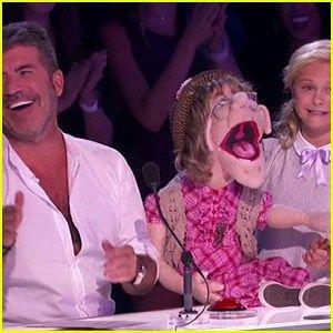 Darci Lynne Farmers Puppet Sings to Simon Cowell on Americas Got Talent (Video)