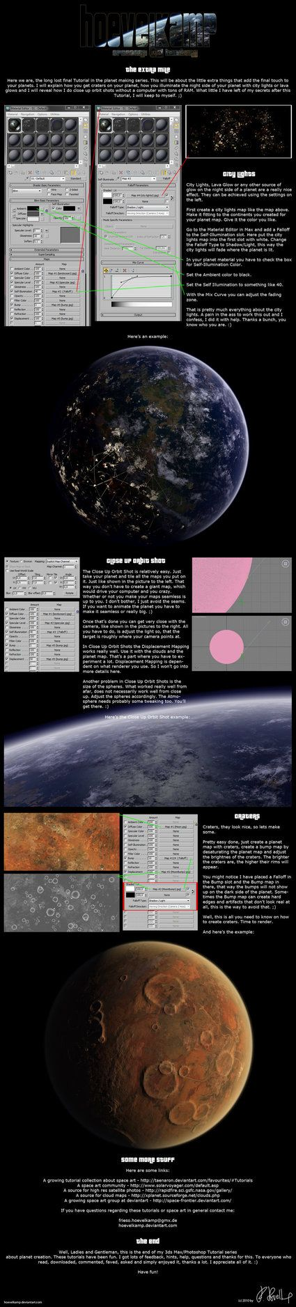 3ds Max Planets - The End by hoevelkamp