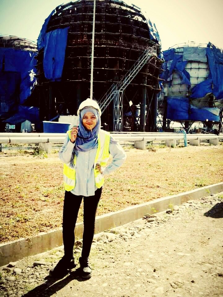 Hijab in Factory