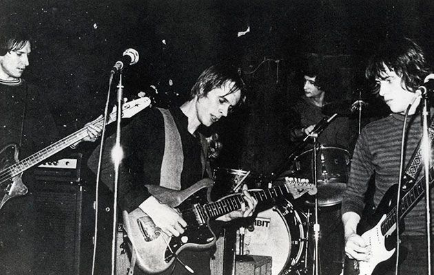 RICHARD LLOYD reveals a tale of unrelenting tension, disgusting shirts, drunken producers, and the power trips of Lloyd's sparring partner, Tom Verlaine…