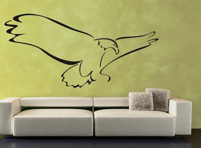 Spectacular Wandtattoo Tiere Adler III