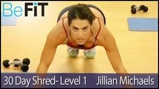 jillian michaels 30 day shred challenge - YouTube