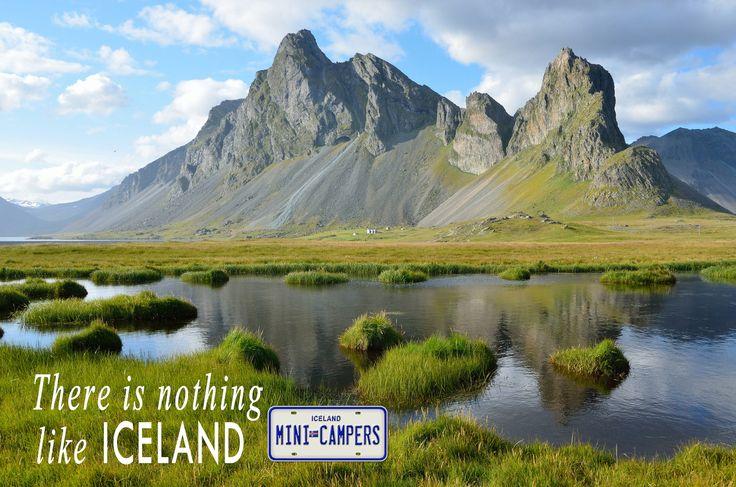 There is nothing like Iceland. Iceland Mini Campers. Camper Van Rental In Iceland. #minicamper #motorhome