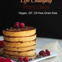 ... Changing Pancakes, Vegans Pancakes, Vegans Life, Life Changing, Grains