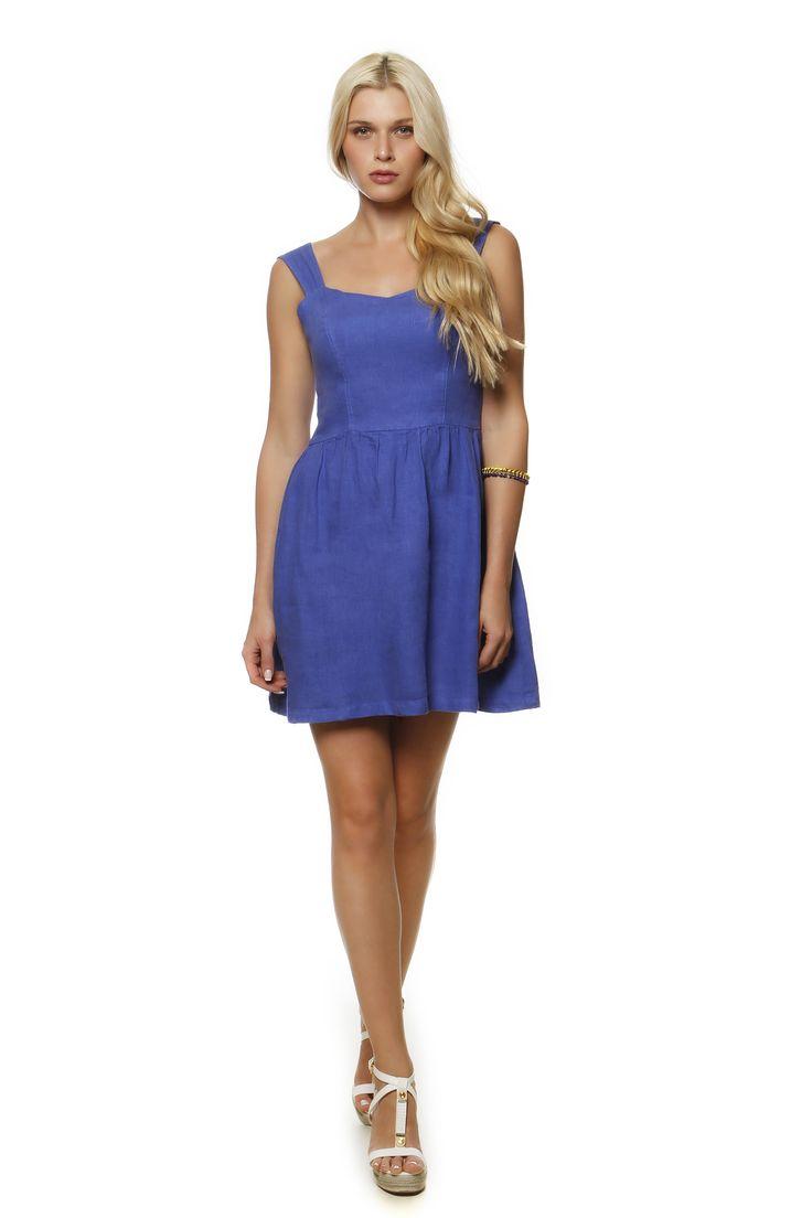 Linen Dress 1995 http://eshop.hariscotton.gr/
