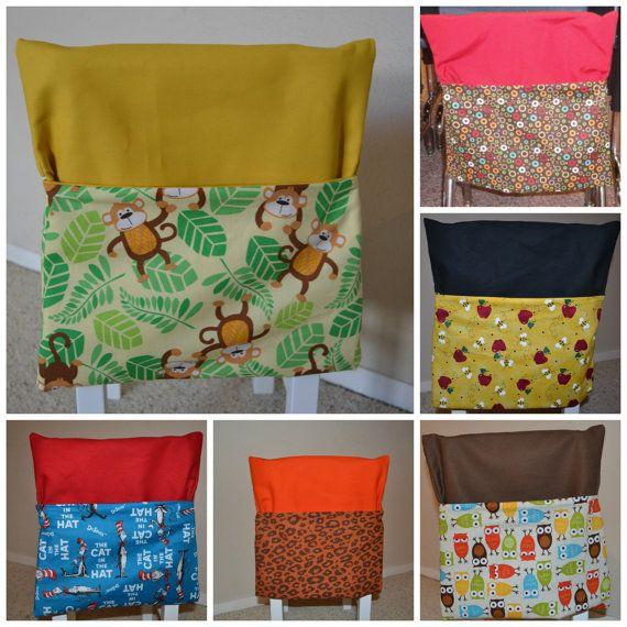 Double Layer Chair Pocket, Available in Any Quantity and Any Size -- Customized Just for You