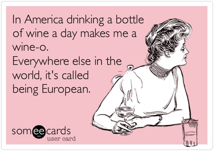 Since I'm Italian it checks. Lol need to say goodbye though to my wine in preparation... I can. Do. It.