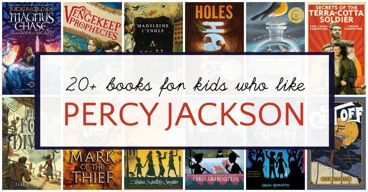 Reading recommendations for kids who like Percy Jackson and other Rick Riordan books. Not just fantasy, these are page-tuners of all genres.