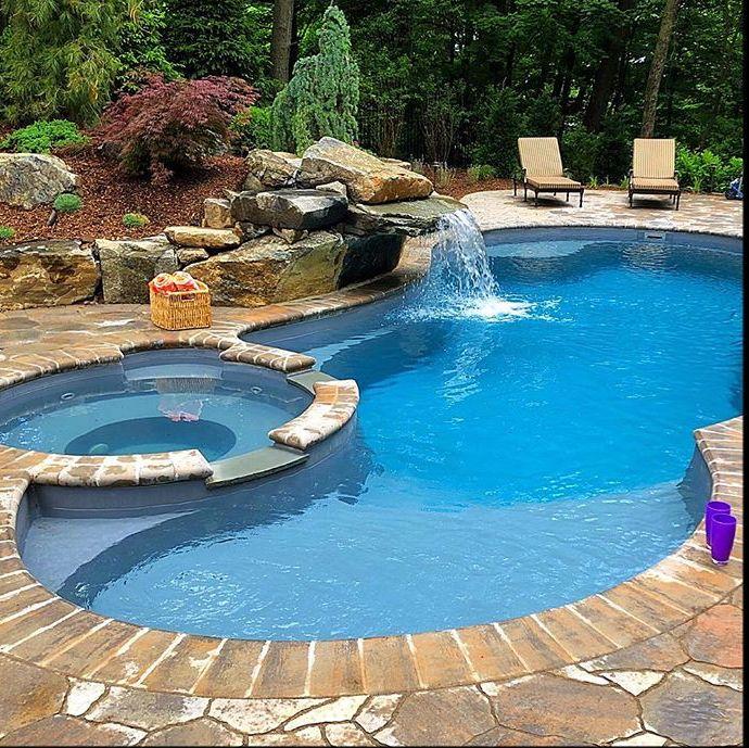 Leisure Pools The Allure Swimming Pools Backyard Inground