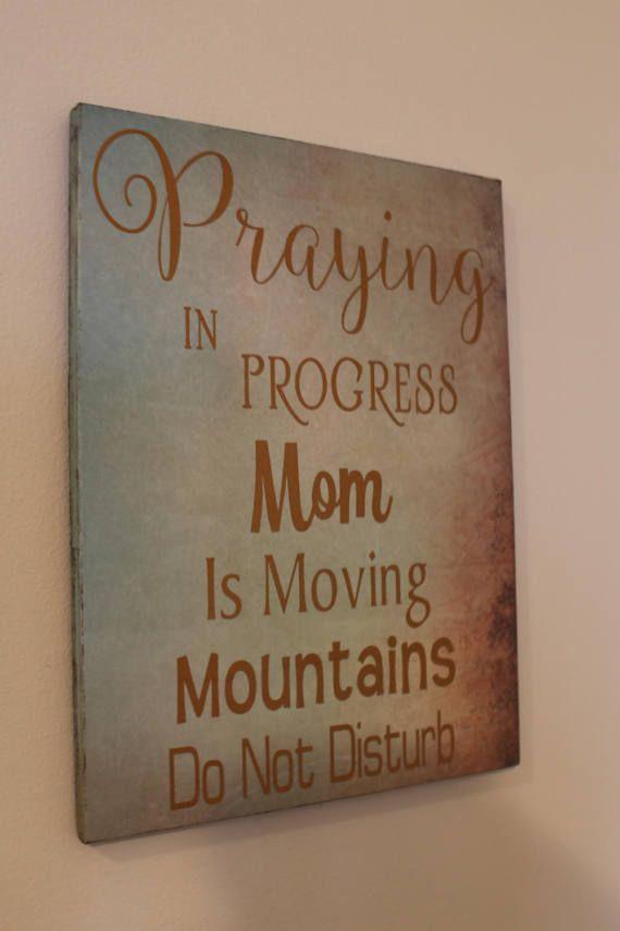 Prayer Closet / War Room / Church Office / Pastor Gift or Pastors Wife Gift - Wall Decor