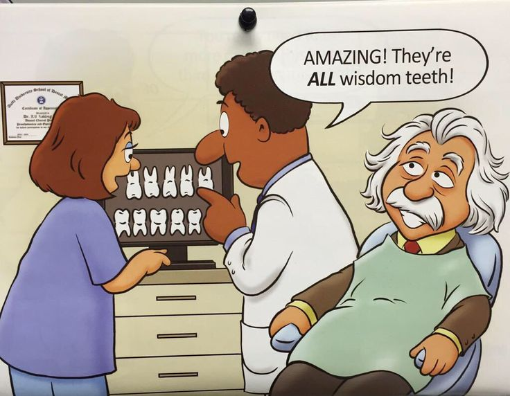 AMAZING! They're ALL wisdom teeth! Berry's Children Dental | #Mitchellville #Bowie | #MD | http://www.berrychildrendental.com/