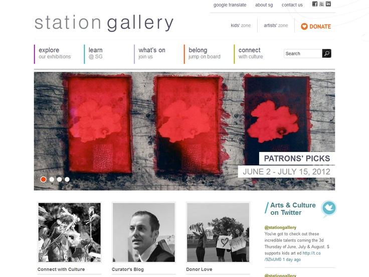 Top 10 Kentico Websites for May 2012 http://devnet.kentico.com/Blogs/Lenka-Navratilova/June-2012/Top-10-Kentico-Websites-for-May-2012.aspx Station Gallery  Implemented by:  ecentricarts, Canada  Kentico Gold Partner