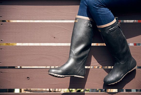 Foldable Japanese Rubber Boots - Kaufmann Mercantile