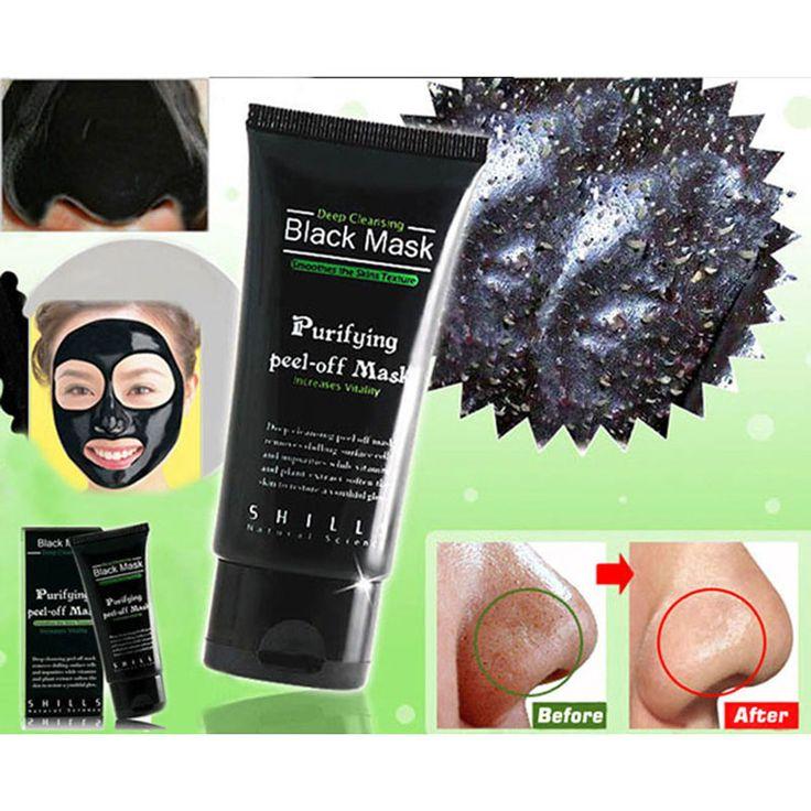 Zwart Masker Gezichtsmasker Comedondrukker Deep Cleansing Zuiverende de Zwarte Hoofd Acne Behandelingen Gezichtsmasker Huidverzorging