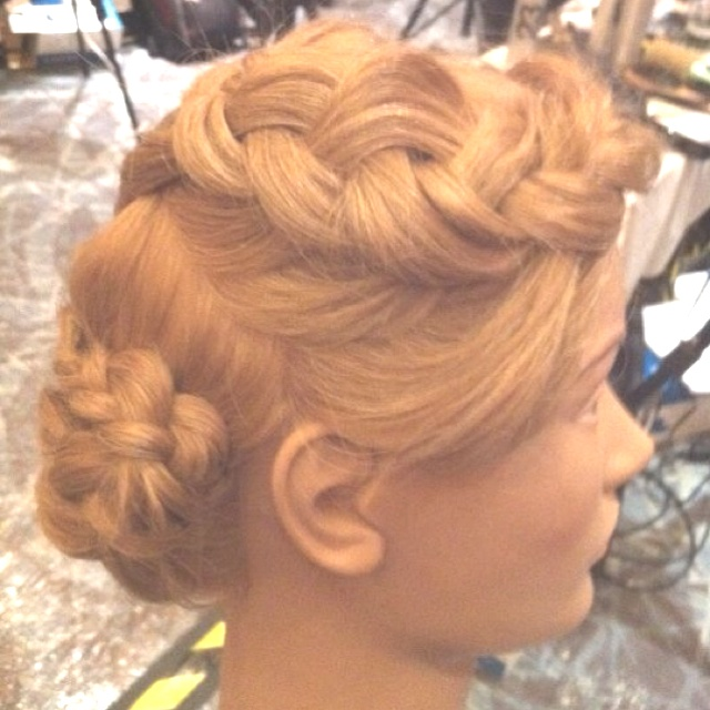 Redkens runway hair !