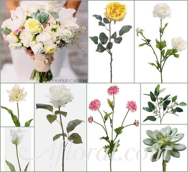 #yellow wedding #succelents #afloral http://blog.afloral.com/inspiration-boards/melissas-cream-pink-yellow-summer-wedding-flowers-inspiration-board/