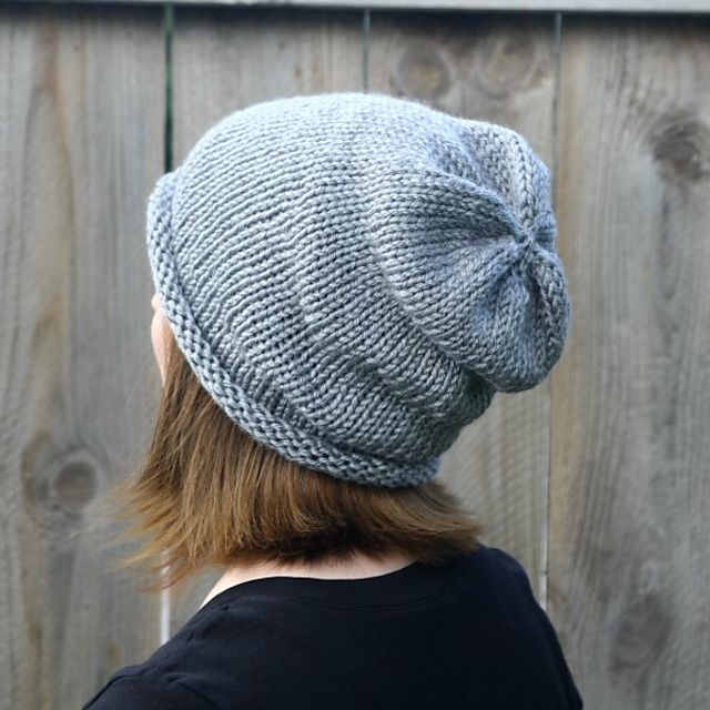Ravelry Simple Slouch Hat By Robyn Devine Crafts