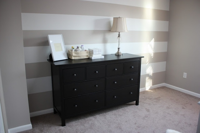 i will create a pinstripe wall this year. This is the beginning of my inspiration