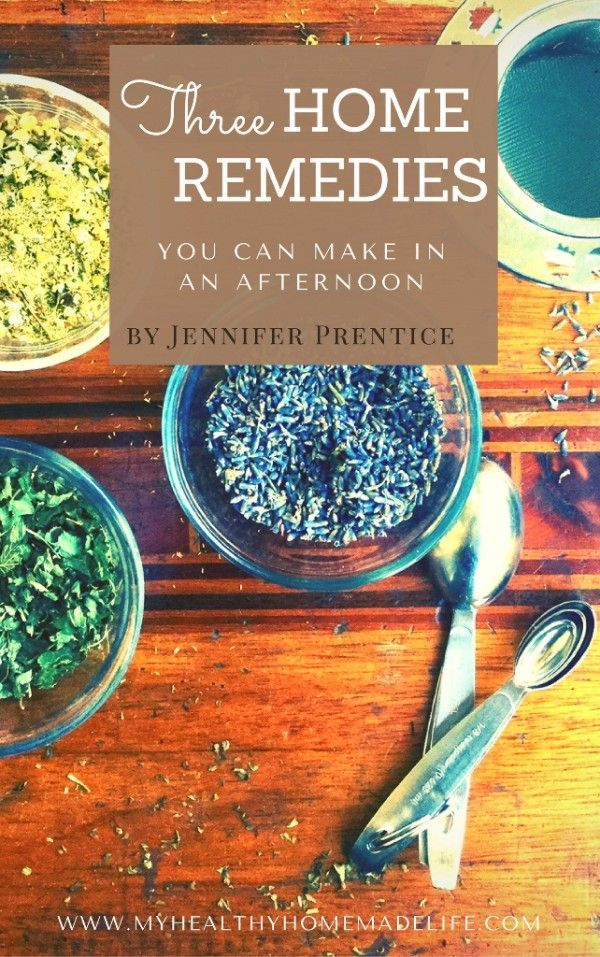 FREE Ebook, Three Home Remedies You can Make in an Afternoon  | Herbal Remedies | DIY Medicine | My Healthy Homemade Life