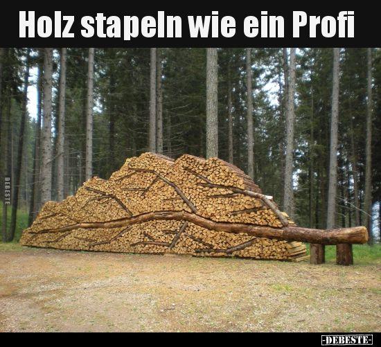 Holz stapeln wie ein Profi.. in 2020 | Terrassendielen ...
