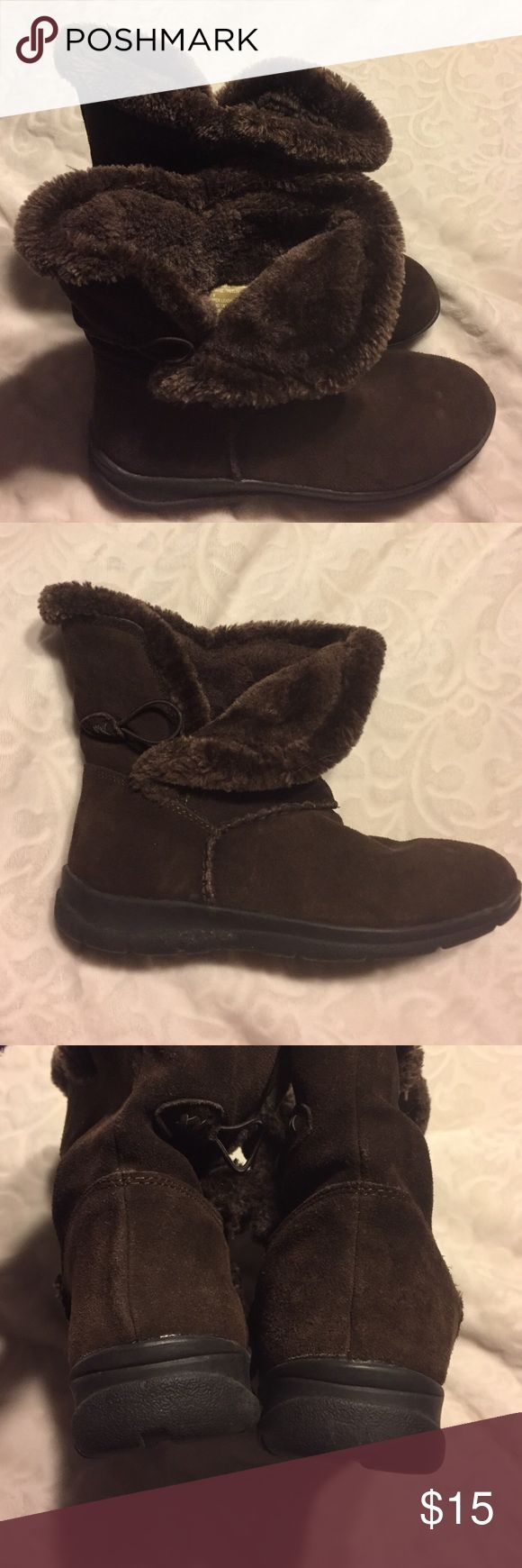 White mountain winter boots Good condition, fur-like inside Shoes Winter & Rain Boots
