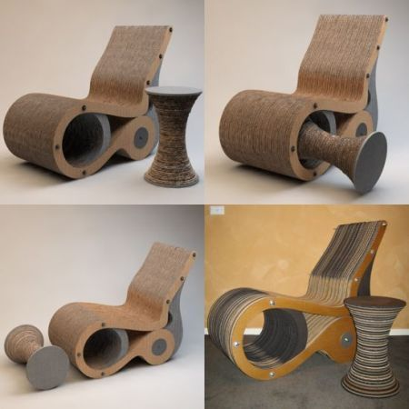 Corrugated Cardboard Chair 118 best corrugated cardboard designs images on pinterest