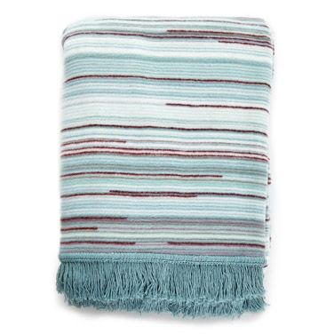 aquaCarolyn Donnelly Eclectic Super Soft Throw