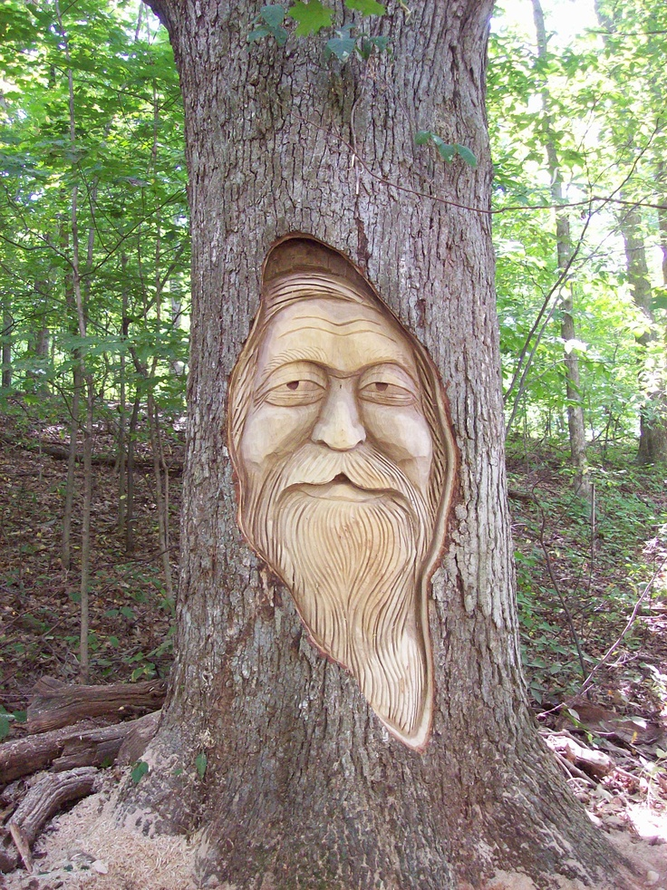 Tree Spirit Tree Carving Tree Art Tree Sculpture