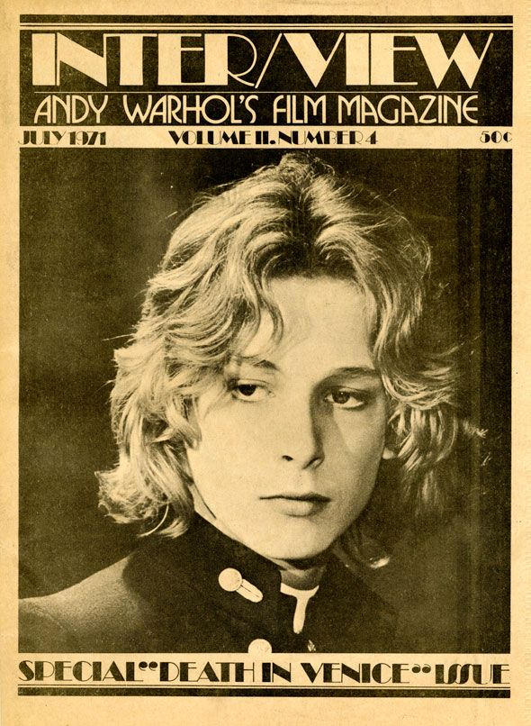 One of the earliest issues of Warhols Interview Magazine / July 1971